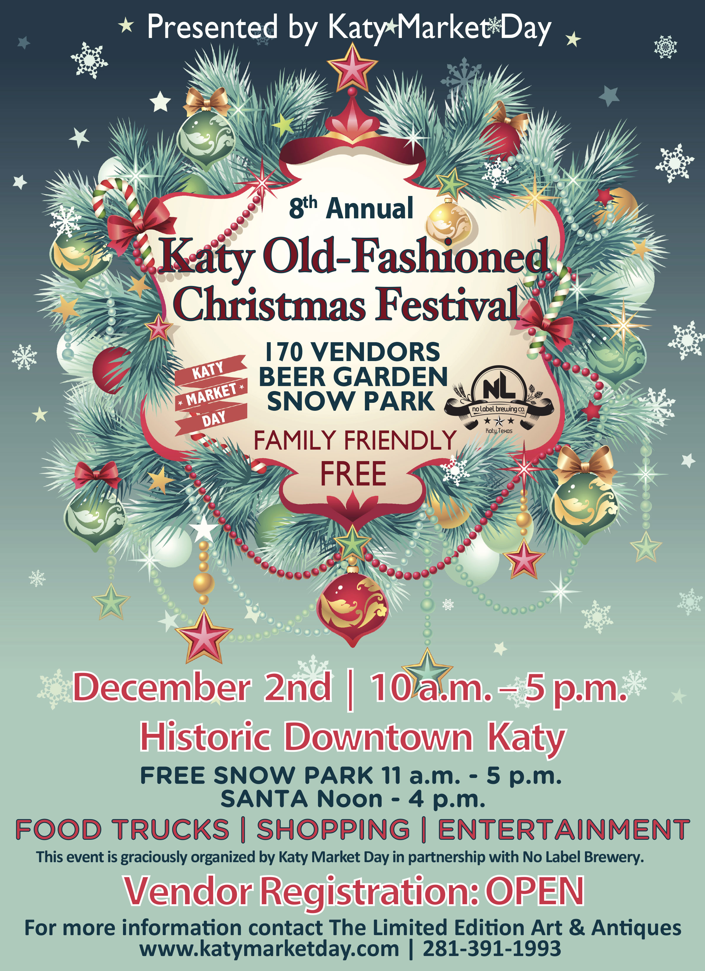 A Katy Old Fashioned Christmas Festival
