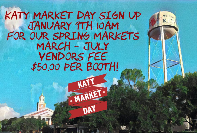 Spring Market Sign Up