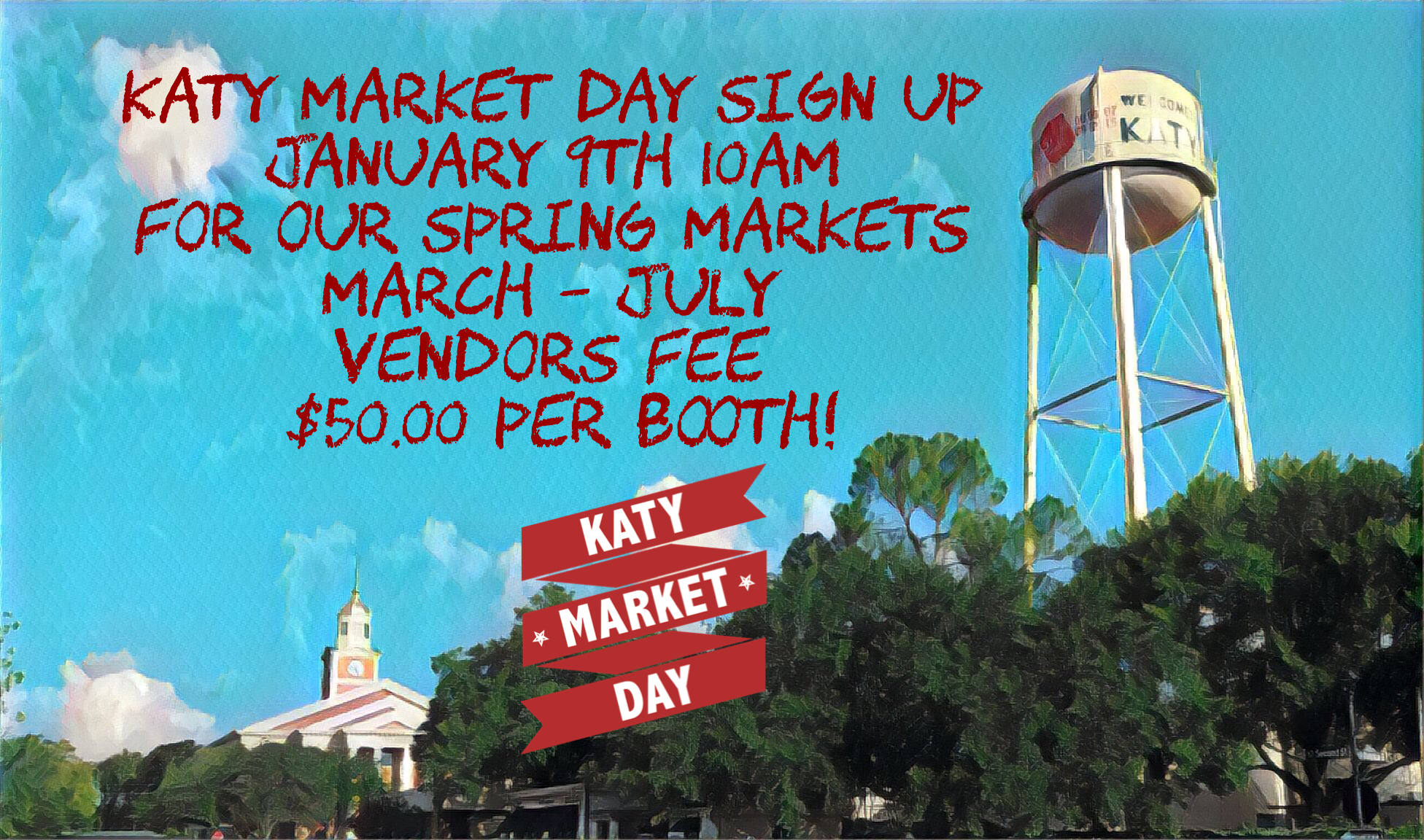 Spring Market Sign Up